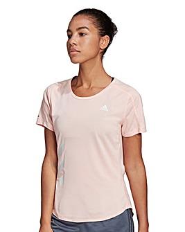 adidas Run It 3-Stripes Fast T-Shirt