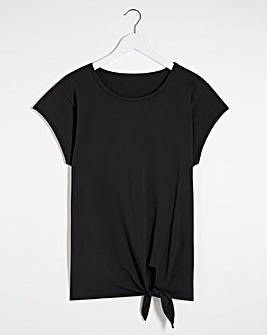 Active Front Knot T-Shirt