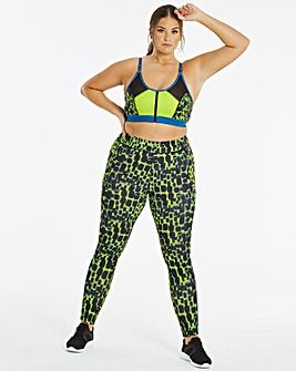 Active Side Panel Croc Long Leggings
