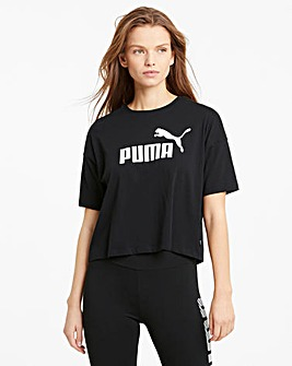 Puma Essential Cropped Logo Tee