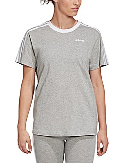 adidas 3 Stripes Boyfriend T-Shirt