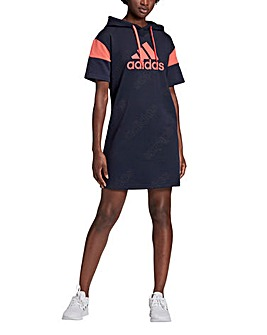 adidas Womens Favourite Hooded Dress