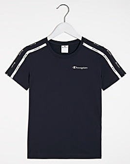 Champion Logo Tape T-Shirt