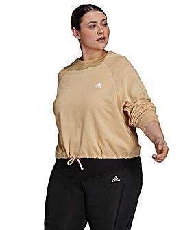 adidas Essentials Cropped Dance Sweatshirt