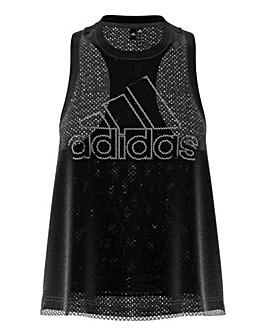 adidas Sportswear Double-Layer Mesh Tank Top