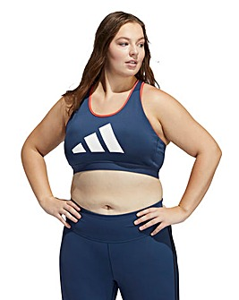 adidas Don't Rest 3 Stripe Bra