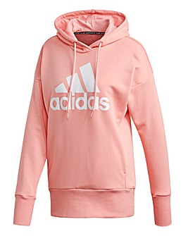 adidas W Badge Of Sport Long Hoodie