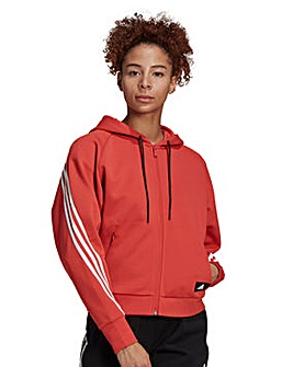 adidas Wrapped 3-Stripes Hoodie