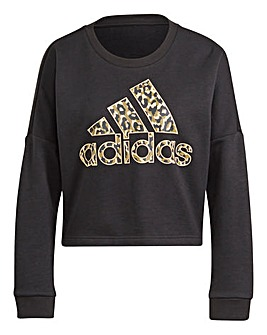 adidas Leopard Graphic Sweatshirt