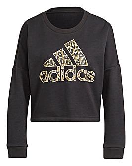 adidas Leopard Graphic Sweatshirt