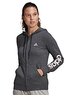 adidas Essentials Logo Full Zip Hoodie