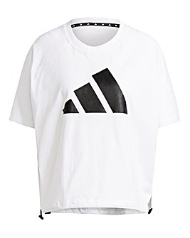 adidas Adjustable Badge of Sport T-Shirt