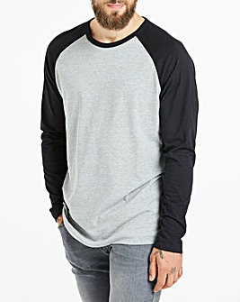 Long Sleeve Raglan T-shirt Long