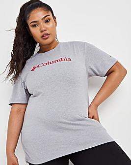 Columbia Logo Short Sleeve T-Shirt