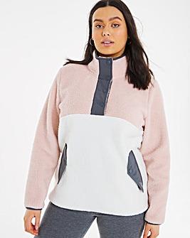 Snowdonia Colour Block Fleece
