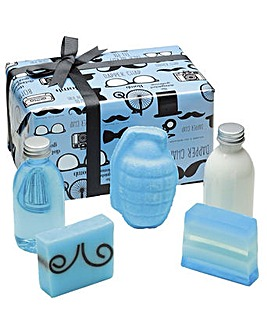 Bomb Cosmetics Distinguished Gentleman Bath Bomb Gift Set