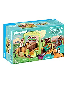 Playmobil Lucky and Spirit Horse Box