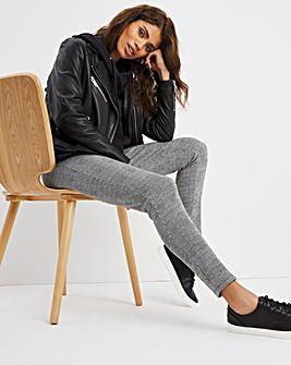 Soft and Stretchy Ponte Jacquard Legging