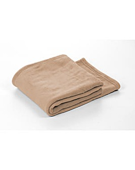 cascade home microfleece throw