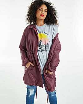 Lightweight Pac a Mac Parka