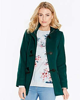 Plain Duffle Coat Length 26in