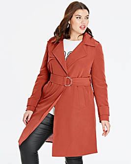 Soft Maple Trench Jacket