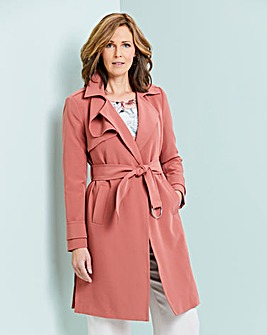 Soft Trench Jacket