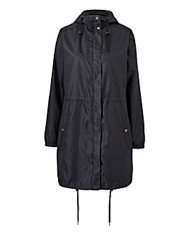 Shower Resistant Plain Pac a Mac Parka