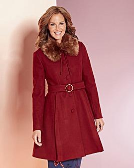 Premium Fit & Flare Coat