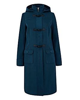 Plain 3/4 Duffle Coat