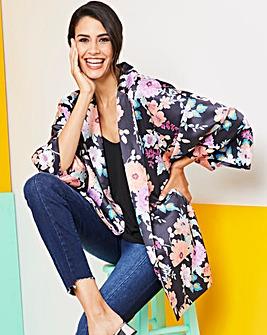 Printed Kimono Jacket