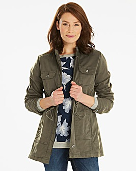 Four Pocket Utility Jacket