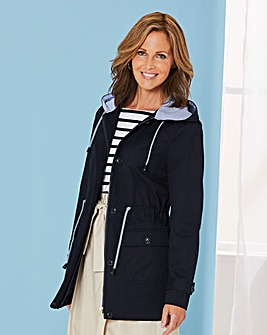 Hooded Cotton Casual Jacket