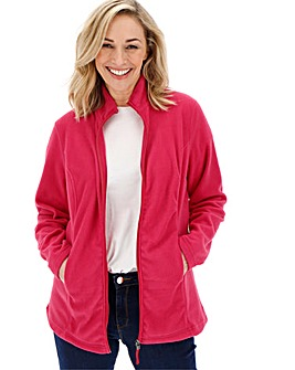 Raspberry Fleece Jacket