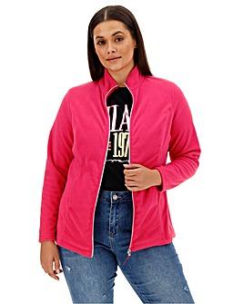 Raspberry Fleece Jacket