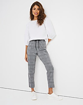 Tapered Leg Trouser with Side Stripe