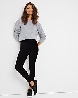 Black Soft Touch Cord Legging