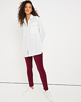 Berry Soft Touch Cord Legging