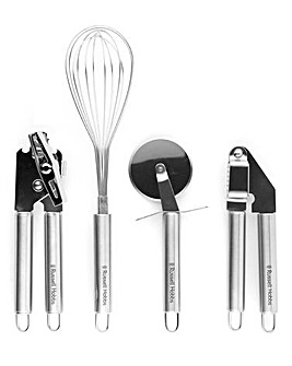 Russell Hobbs Kitchen Essentials 4 Piece Tool Set