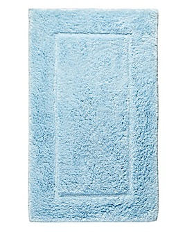Silky Supersoft Bath Mat Chateau Blue