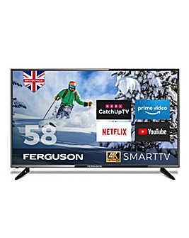 Furgeson 58 4K Ultra HD Smart TV
