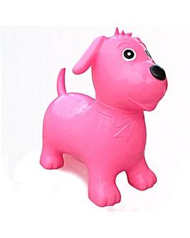Happy Hopperz Pink Dog