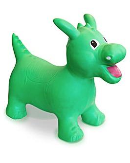 Happy Hopperz Green Dino