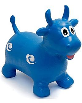 Happy Hopperz Blue Bull
