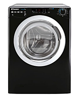 Candy CSOW2853TWCBE-80 8+5kg Free Standing Washer Dryer Black