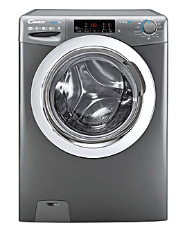 Candy CSOW2853TWCGE-80 8+5kg Free Standing Washer Dryer Graphite