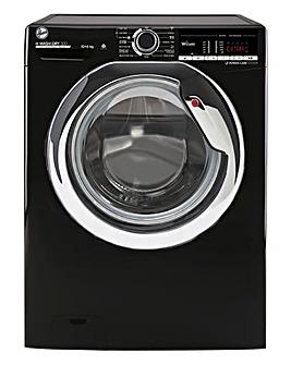 Hoover H3D41065TACBE-80 10+6kg Free Standing Washer Dryer Black