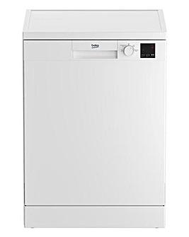 Beko DVN04320W Freestanding 13-place Full-Size Dishwasher - White