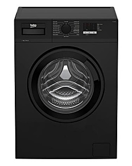 Beko 7.0 kg Washing Machine BLACK WTL74051B + INSTALLATION