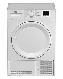 Beko DTLCE80051W 8kg Condenser Dryer White